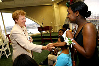 Mayor Beverly O'Neill and BMA Scholars